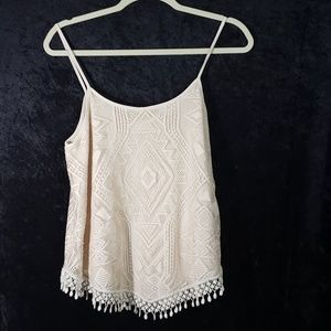 be4040835f2 Maurices Tops - !!SALE 5 FOR 25!! M Maurices Cream Boho Camisole